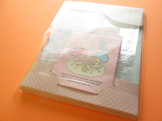 Photo1: Kawaii Cute おすそわけ Paper Bags Set Sanrio Original *Little Twin Stars (18277-0)