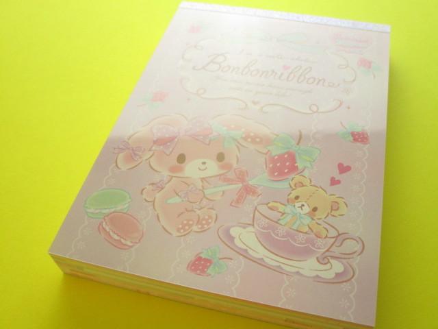 Photo1: Kawaii Cute Large Memo Pad Sanrio Original *Bonbonribbon (18175-7)