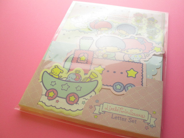 Photo1: Kawaii Cute Regular Letter Set Sanrio Original *Little Twin Stars (17999-0)