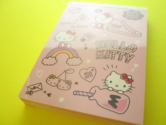Photo1: Kawaii Cute Large Memo Pad Sanrio Original *Hello Kitty (18017-3)