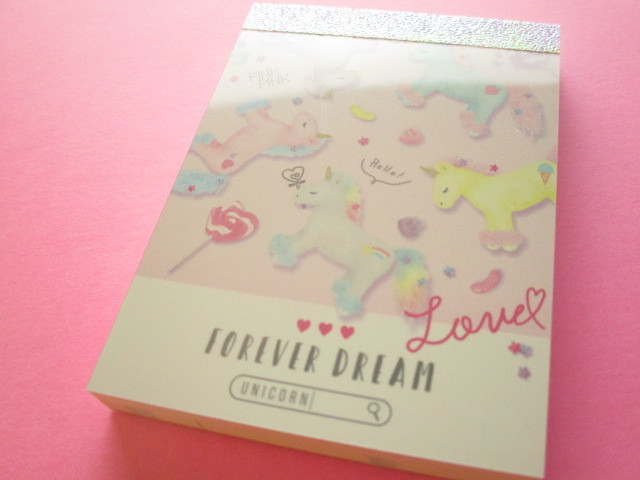 Photo1: Kawaii Cute Mini Memo Pad Q-LiA *Forever Dream (40054)