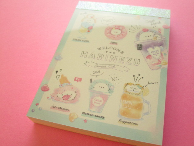 Photo1: Kawaii Cute Mini Memo Pad Q-LiA *Harinezu Sweet Cafe (40052)