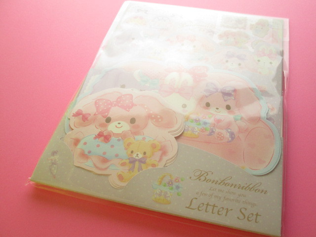 Photo1: Kawaii Cute Regular Letter Set Sanrio Original *Bonbonribbon (18010-6)