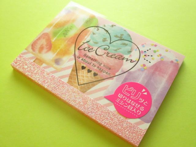 Photo1: Kawaii Cute ピリット Mini Memo Pad Q-LiA *Ice cream (40086)