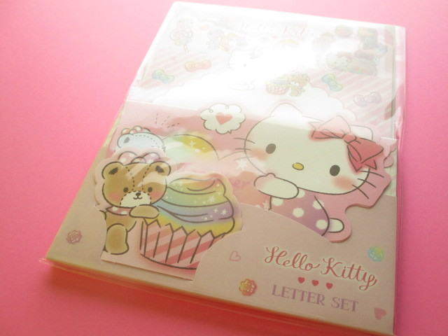 Photo1: Kawaii Cute Regular Letter Set Sanrio Original *Hello Kitty (17993-1)