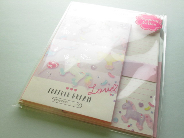 Photo1: Kawaii Cute Cherimo  Letter Set Q-LiA *Forever Dream (40082)