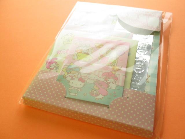 Photo1: Kawaii Cute おすそわけ Paper Bags Set Sanrio Original *Sanrio Characters (18329-6)