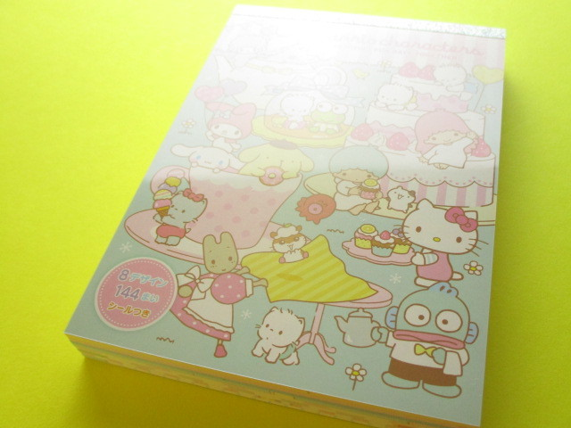 Photo1: Kawaii Cute Large Memo Pad Sanrio Original *Sanrio Characters (18177-3)