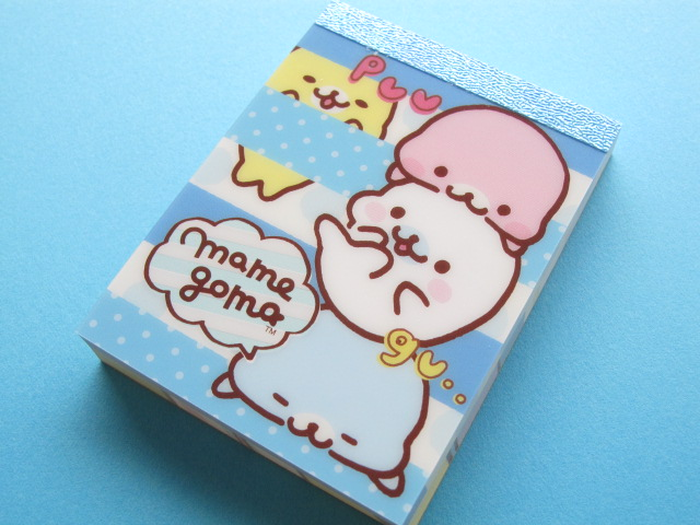 Photo1: Kawaii Cute Mini Memo Pad San-x *Mamegoma (MM13101-3)