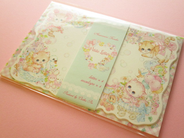 Photo1: Kawaii Cute Mini Letter Set Amenomori Fumika Clothes Pin *Sugar Baby (LS-13881)
