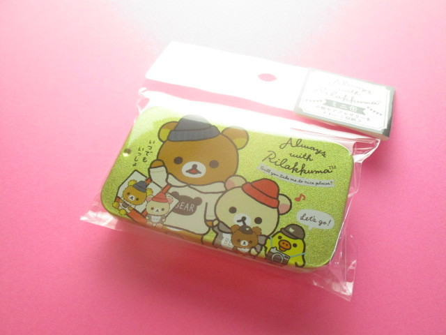 Photo1: Kawaii Cute Mini Tin Case San-x *Rilakkuma (MB20301-3)