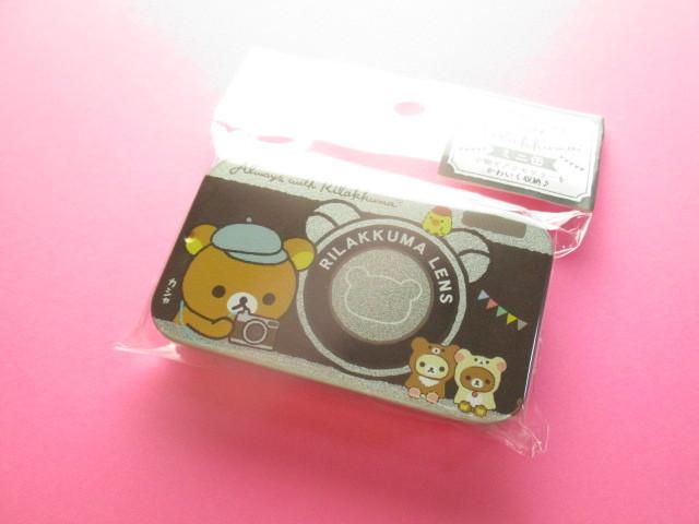 Photo1: Kawaii Cute Mini Tin Case San-x *Rilakkuma (MB20301-4)