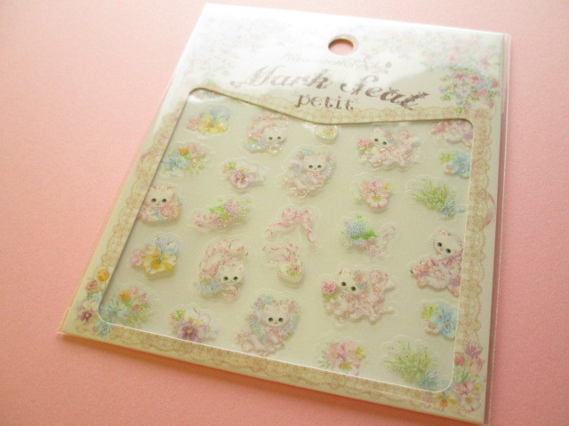 Photo1: Kawaii Cute Clear Sticker Sheet  Amenomori Fumika Clothes Pin *Pansy (US-14318)