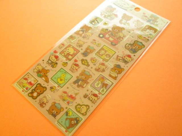 Photo1: Kawaii Cute Sticker Sheet Rilakkuma San-x *Always with Rilakkuma (SE39601)