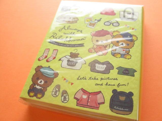 Photo1: Kawaii Cute Patapata Mini Memo Pad Rilakkuma San-x *Always with Rilakkuma (MW55101)