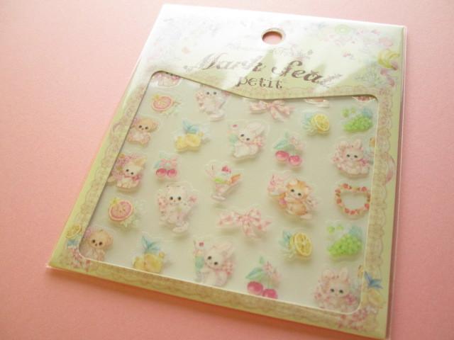 Photo1: Kawaii Cute Clear Sticker Sheet  Amenomori Fumika Clothes Pin *Fruits (US-14317)