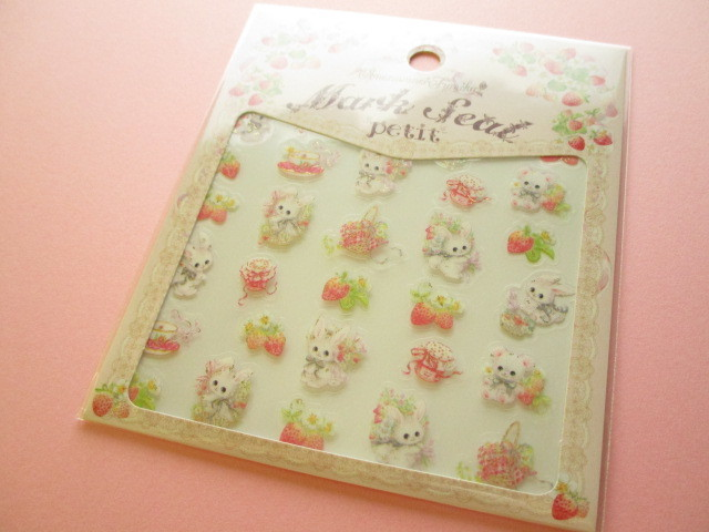 Photo1: Kawaii Cute Clear Sticker Sheet  Amenomori Fumika Clothes Pin *Berry (US-14315)