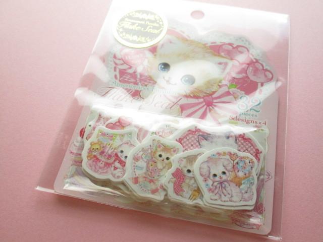 Photo1: Kawaii Cute Sticker Flakes Sack Amenomori Fumika Clothes Pin *Sweets (US-13874)