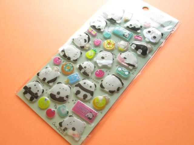 Photo1: Kawaii Cute Funi Funi Prism Sticker Sheet San-x *Hamipa (SE43501)