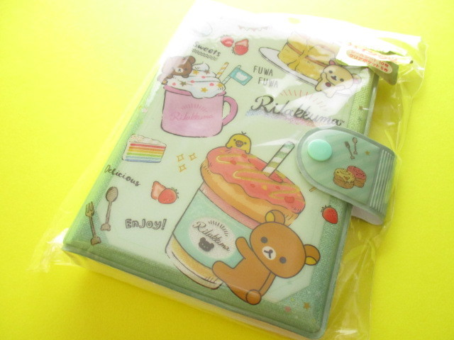 Photo1: Kawaii Cute Funifuni Sticker Binder San-x *Rilakkuma (SE41901)