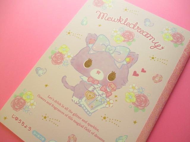 Photo1: Kawaii Cute B5 Notebook Sanrio Original *Mewkledreamy (62391-1)