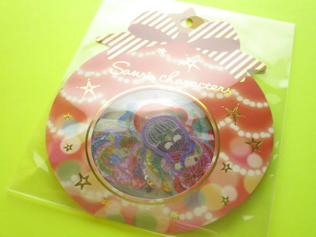 Photo1: Kawaii Cute Sticker Flakes Sack Sanrio Original *Sanrio Characters Illumination (00226-7)