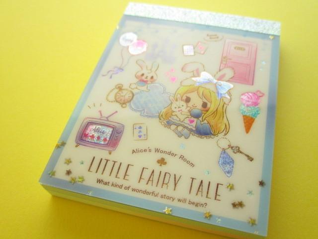 Photo1: Kawaii Cute Mini Memo Pad Little Fairy Tale Q-LiA *Alice (44395)