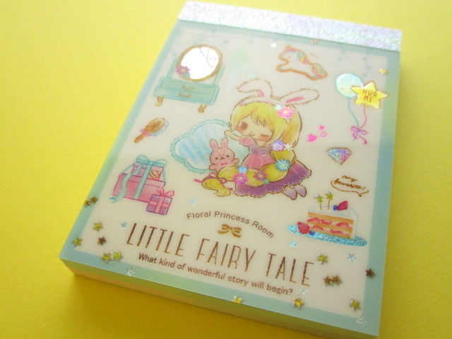 Photo1: Kawaii Cute Mini Memo Pad Little Fairy Tale Q-LiA *Little Rapunzel (44392)