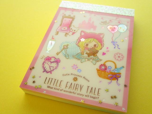 Photo1: Kawaii Cute Mini Memo Pad Little Fairy Tale Q-LiA *Little Red Riding Hood (44394)