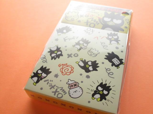 Photo1: Kawaii Cute Mini Memo Pad & Sticker Flakes Set Sanrio Original *Bad Badtz-Maru (86183-9 BB)