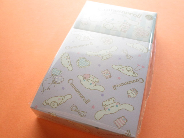 Photo1: Kawaii Cute Mini Memo Pad & Sticker Flakes Set Sanrio Original *Cinnamoroll  (86183-9 Ci)