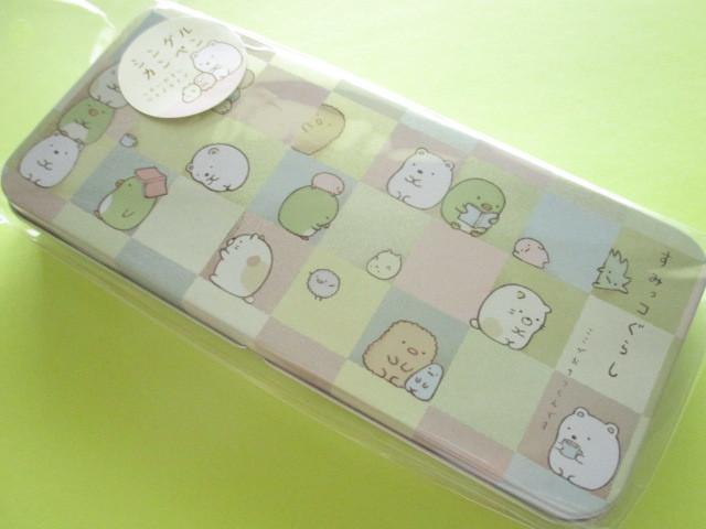 Photo1: Kawaii Cute Versatile Tin Case/Box San-x *Sumikkogurashi (PY34701)