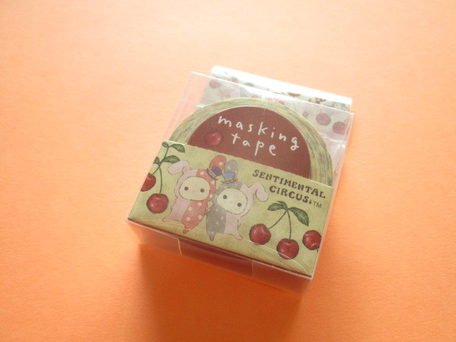 Photo1: Kawaii Cute Mini Masking Tape/Deco Tape Sticker San-x *Sentimental Circus (SE45201)