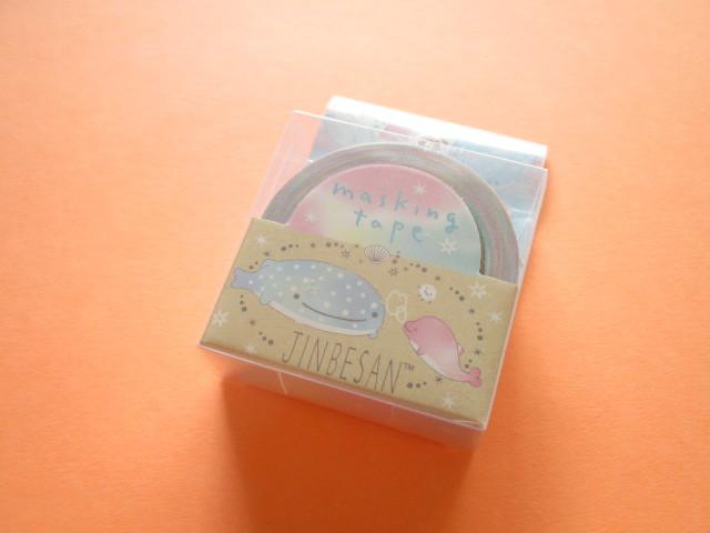 Photo1: Kawaii Cute Mini Masking Tape/Deco Tape Sticker San-x *Jinbesan (SE45301)