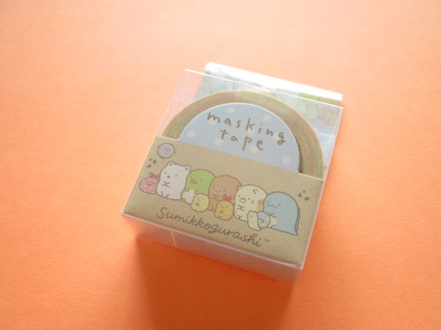 Photo1: Kawaii Cute Mini Masking Tape/Deco Tape Sticker San-x *Sumikkogurashi (SE45001)