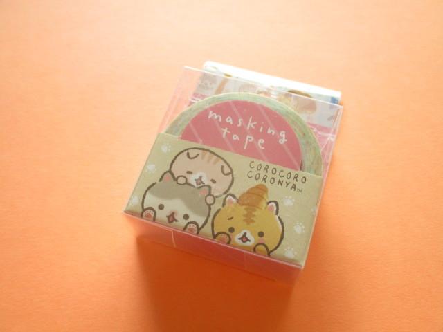 Photo1: Kawaii Cute Mini Masking Tape/Deco Tape Sticker San-x *Corocorocoronya (SE45401)