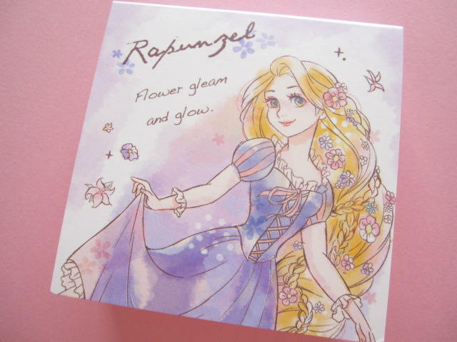 Photo1: Kawaii Cute Mini Memo Pad Kamio *Rapunzel (84469)