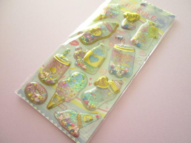 Photo1: Kawaii Cute Capsule Koeln Sticker Sheet Q-LiA *Bottle Bears (41101)