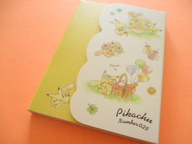 Photo1: Kawaii Cute Pikachu Large Memo Pad Cute Model *Picnic (17900)