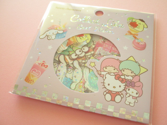 Photo1: Kawaii Cute Collect Like Sticker Flakes Sack Sanrio *Sanrio Characters (27195)