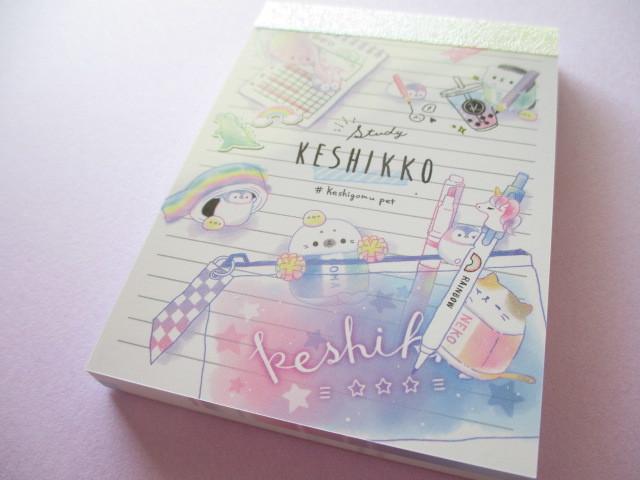 Photo1: Kawaii Cute Keshikko Mini Memo Pad Crux *Study (56840)