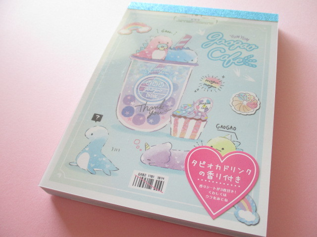 Photo1: Kawaii Cute Large Memo Pad Q-LiA *Gaogao Cafe (40362)