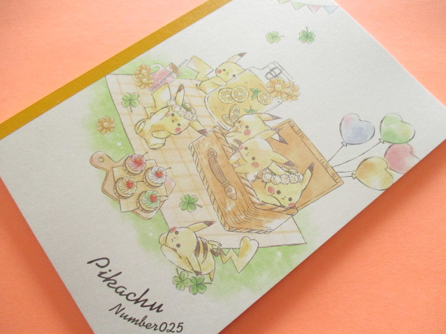 Photo1: Kawaii Cute Pikachu B5 Notebook Cute Model *Picnic (17624)
