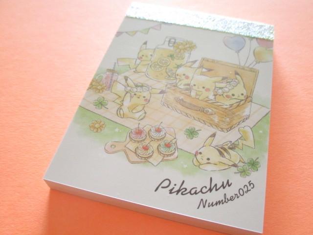 Photo1: Kawaii Cute Pikachu Mini Memo Pad Cute Model *Picnic (17995)