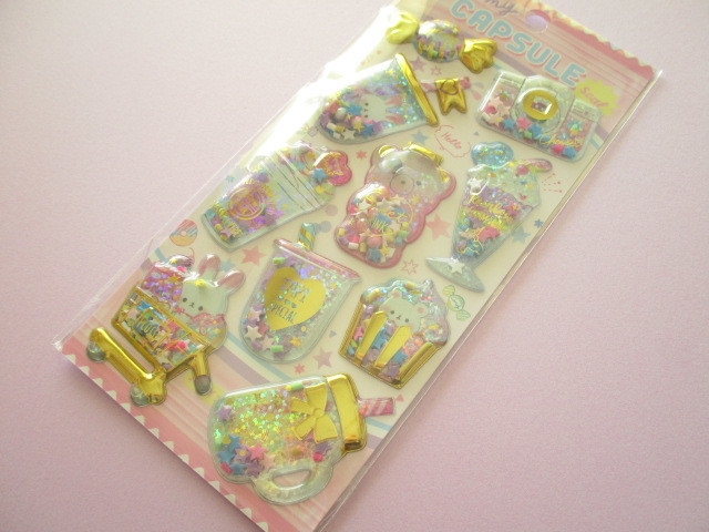 Photo1: Kawaii Cute Capsule Koeln Sticker Sheet Q-LiA *フロッシーレベレット (41102)