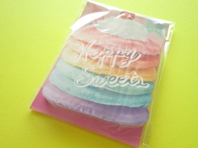 Photo1: Kawaii Cute Delicafe Die-Cut Medium Memo Pad Q-LiA *Pancake (40108)