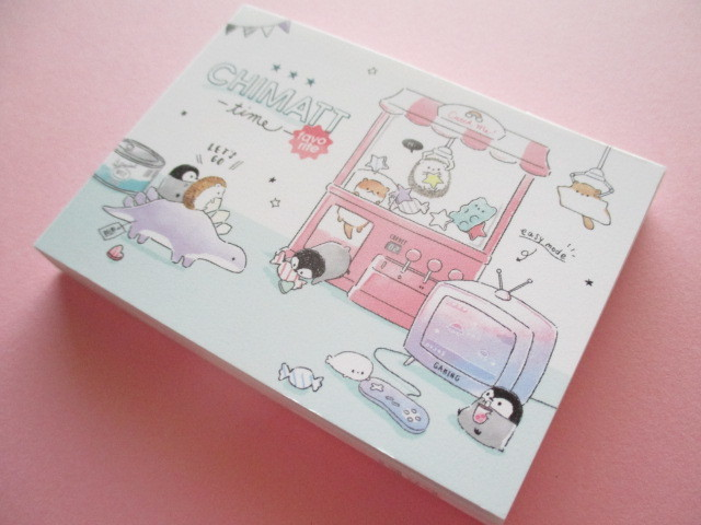 Photo1: Kawaii Cute Mini Memo Pad Chimatt Stationery Q-LiA *Pikopiko(44607)
