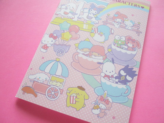Photo1: Kawaii Cute A5 Notebook Sanrio Original *Sanrio Characters (35636-1)