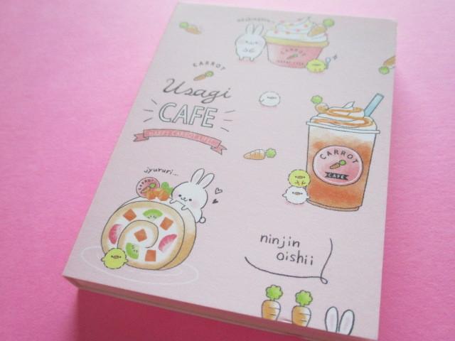Photo1: Kawaii Cute Mini Memo Pad Q-LiA *Usagi Cafe (40162)