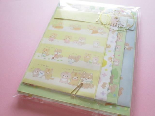 Photo1: Kawaii Cute Letter Set Corocorocoronya San-x *Shiba Inu Komame (LH70301)